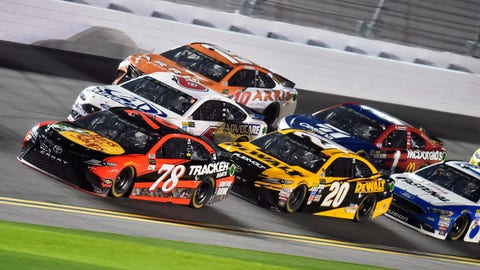 Martin Truex Jr.'s No. 78 Toyota was one of three cars to fail post-race height inspection. (Photo: Nigel Kinrade/LAT Images)