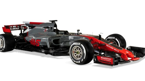 Haas F1 shows first official pictures of VF17