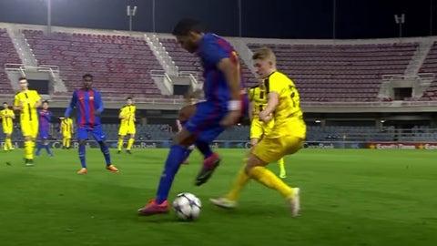 Jordi Mboula vs. Borussia Dortmund