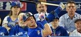 Watch as injured Josh Donaldson skips running bases after hitting home run