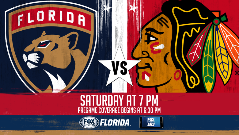 Chicago Blackhawks at Florida Panthers game preview
