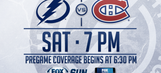 Montreal Canadiens at Tampa Bay Lightning game preview