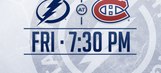 Tampa Bay Lightning at Montreal Canadiens game preview