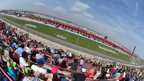 Auto Club Speedway, March 25