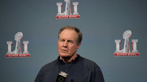 Bill Belichick being five weeks behind the competition won't matter
