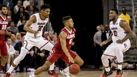Avery Johnson Jr. stole the show for the Tide