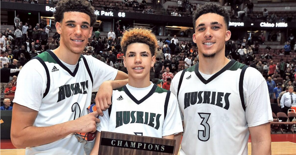 How Lonzo Ball's brothers have emerged from the UCLA star ...