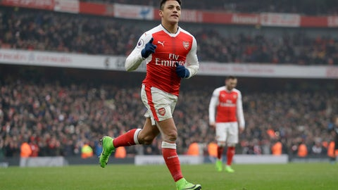 Alexis Sanchez will never stop fighting