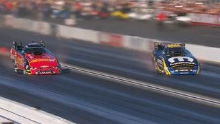 Matt Hagan Wins Funny Car Final Pomona | NHRA 2017