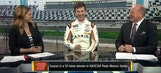 Daniel Suárez Interview at Daytona Media Day | NASCAR RACE HUB
