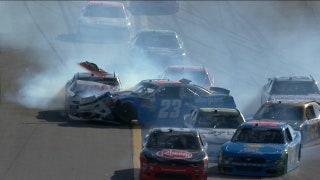 Multiple Rookies Taken Out at Daytona | 2017 NASCAR XFINITY | NASCAR ON FOX