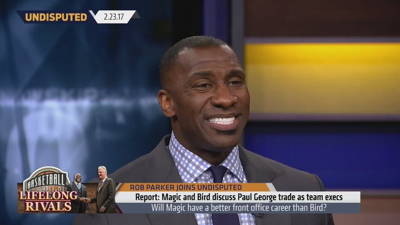 Magic Johnson is trying to trade for Paul George | UNDISPUTED