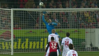 Freiburg open the scoring with fortunate deflection | 2016-17 Bundesliga Highlights