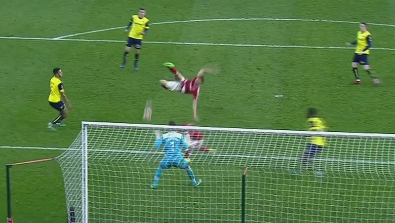 Rudy Gestede nets against Oxford with ridiculous finish | 2016-17 FA Cup Highlights