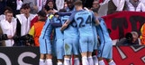 Raheem Sterling opens the scoring for Man City   2016-17 UEFA Champions League Highlights