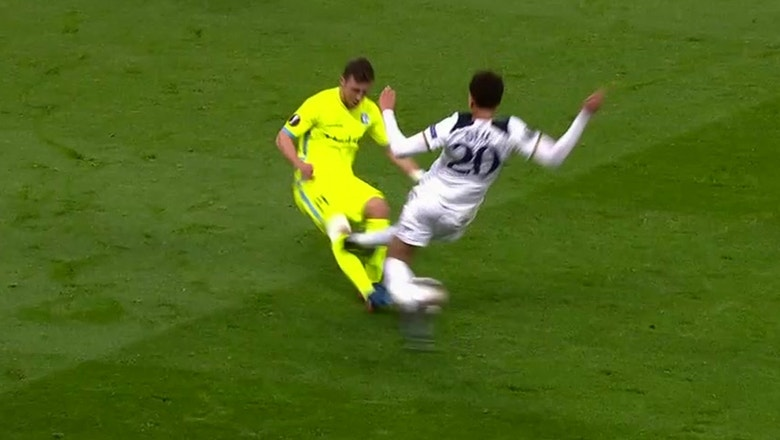 Tottenham Hotspur vs. Gent | 2016-17 UEFA Europa League Highlights