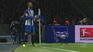 Vedad Ibisevic goal for Hertha Berlin | 2016-17 Bundesliga Highlights