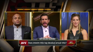 Interim titles are devaluing the actual UFC belt | UFC TONIGHT