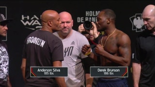 Anderson Silva vs. Derek Brunson | Weigh-In | UFC ON FOX