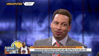 Chris Broussard on handling Draymond Green's Golden State disruptions
