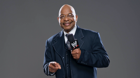 Teddy Long on his first job as a referee: