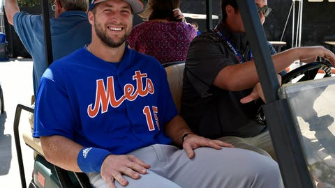 Mets' Tim Tebow stalker arrested at spring training, report says