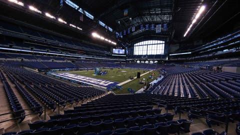 Dallas Cowboys: Lucas Oil Stadium (Colts)