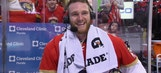 First-star Jonathan Huberdeau describes his return to Panthers