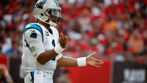 Cowherd: Newton's status has been elevated due to one winning streak