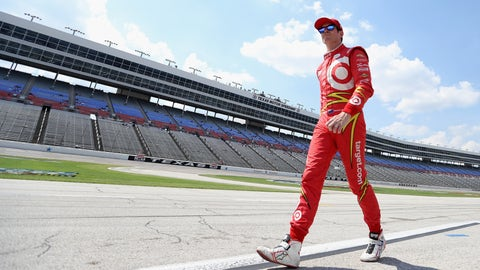 FORT WORTH, TX - JUNE 10:  Scott Dixon of New Zealand, driver of the #9 Target Chip Ganassi Racing Chevrolet, walks on pit road during Star-Telegram Qualifying for the Verizon IndyCar Series Firestone 600 at Texas Motor Speedway on June 10, 2016 in Fort Worth, Texas.  (Photo by Patrick Smith/Getty Images for Texas Motor Speedway)