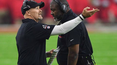 Shannon: Defensive coaches are taking the blame when the offense cost the Falcons