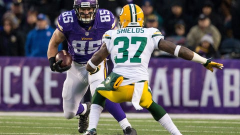 October 15: Green Bay Packers at Minnesota Vikings, 1 p.m. ET