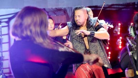 AJ Styles vs. Shinsuke Nakamura
