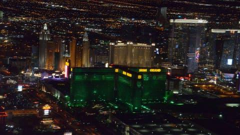 Host the festivities in Las Vegas every single year