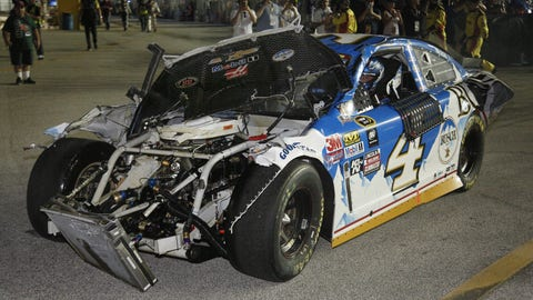 NASCAR to put restrictions on damaged cars returning to the race