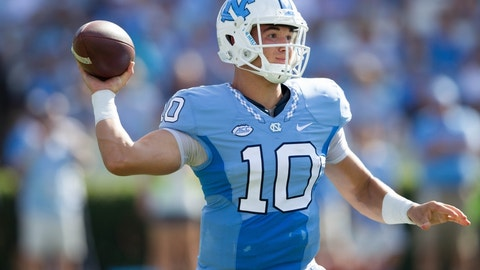 New York Jets: Mitch Trubisky, QB, North Carolina