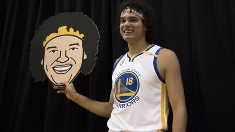 Warriors to Waive Varejao, Sign No. 1 D-League Prospect