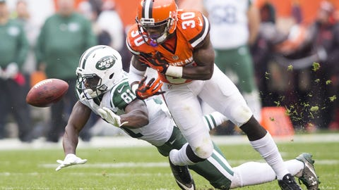 October 8: New York Jets at Cleveland Browns, 1 p.m. ET