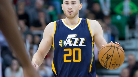 F, third team: Gordon Hayward, Utah Jazz