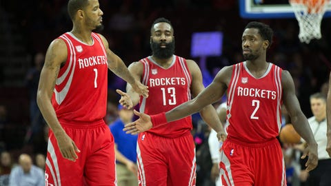 Houston Rockets: James Harden, Patrick Beverley, Trevor Ariza