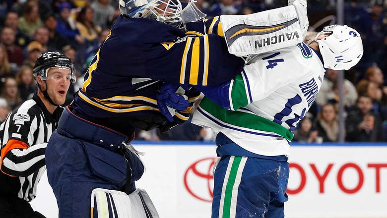 Vancouver Canucks F Alex Burrows has Another 2 Point Night