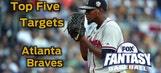Fantasy Baseball Draft Advice: top five Atlanta Braves