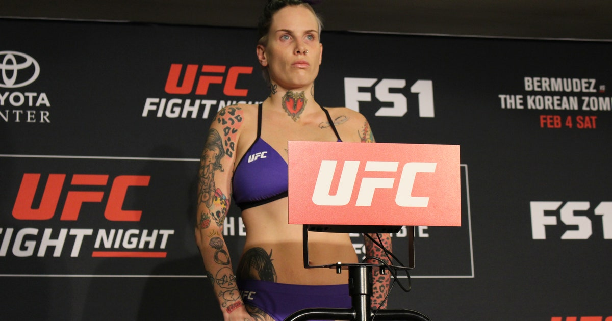 Bec Rawlings explains why she missed weight ahead of UFC Fight Night 104