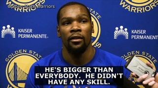 Durant takes shots at Shaq over Twitter feud with McGee