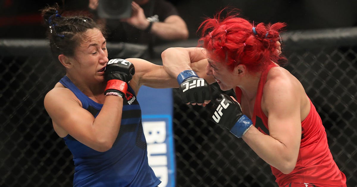 Randa Markos vs. Carla Esparza | UFC FIGHT NIGHT ...