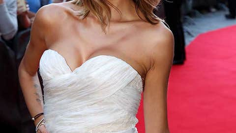 FLORENCE, ITALY - SEPTEMBER 13:  Melissa Satta attend the Celebrity Fight Night gala at Palazzo Vecchio during 2015 Celebrity Fight Night Italy benefiting the Andrea Bocelli Foundation on September 13, 2015 in Florence, Italy.  (Photo by Andrew Goodman/Getty Images for Celebrity Fight Night)