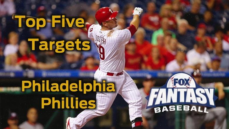 Fantasy Baseball Draft Advice: top five Philadelphia Phillies