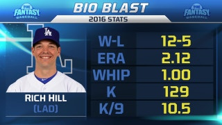 FOX Fantasy Podcast: proper draft strategy for 37-year-old Rich Hill
