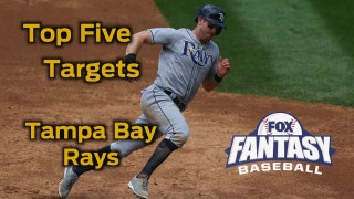 Fantasy Baseball Draft Advice: top five Tampa Bay Rays