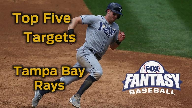 Fantasy Baseball Draft Advice: top five Tampa Bay Rays